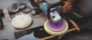 Учимся правильно пользоваться полировальной машинкой