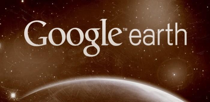 Google Earth (координаты необычных мест) + снимки космоса и Земли