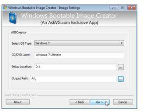 Windows Bootable Image (WBI) Creator