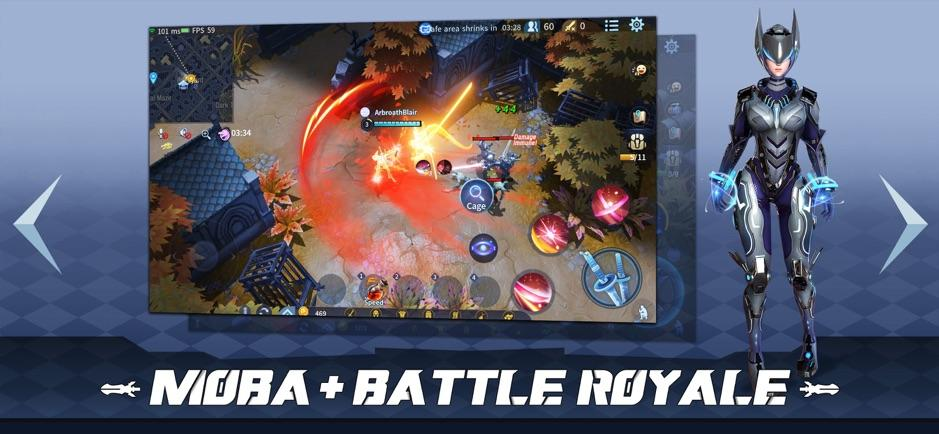 Survival Heroes: MOBA Battle Royale