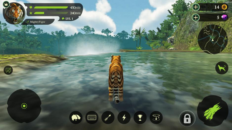 The Tiger Online RPG Simulator
