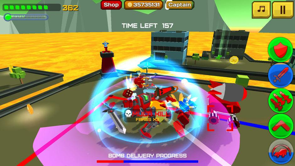 Armored Squad: Mechs vs Robots Online Action