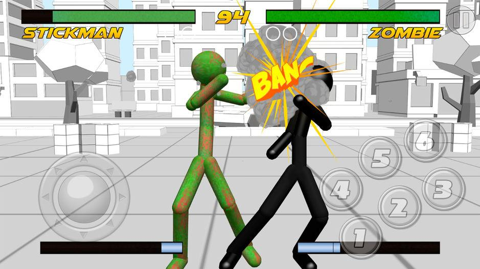 Stickman Fighting 3D