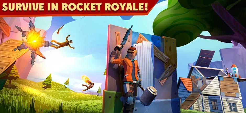 Rocket Royale: PvP Выживание