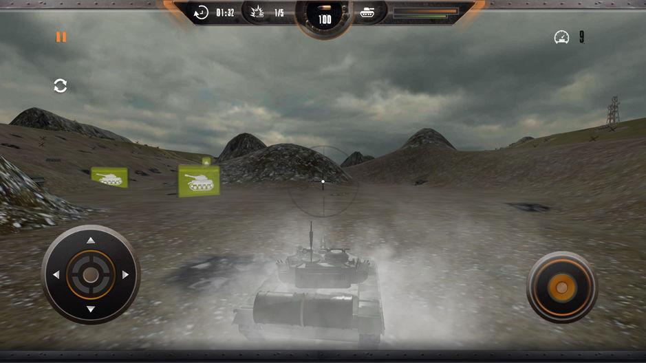 Tank Sim: Боевой фронт