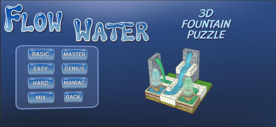 Flow Water Fountain 3D головоломка