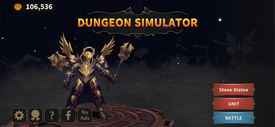Dungeon Simulator: Стратегическая РПГ