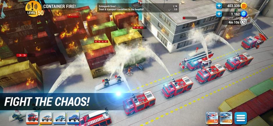 EMERGENCY HQ: free rescue strategy game