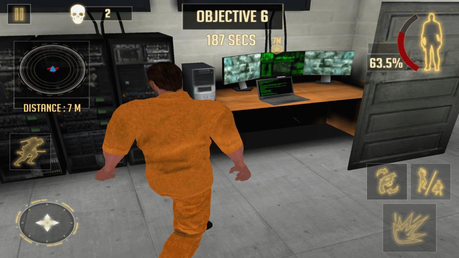 Survival Prison Escape v2: Free Action Game