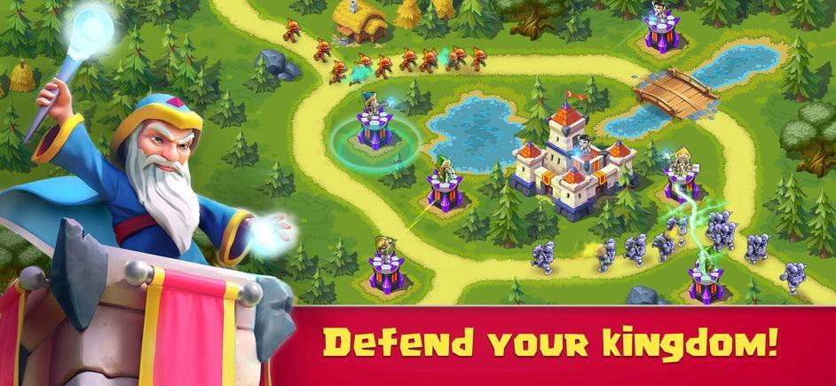 Toy Defense 3: Fantasy - TD Strategy Game