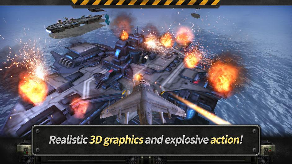 GUNSHIP BATTLE: 3D Action