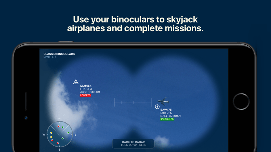 Skyjacker – We Own the Skies!