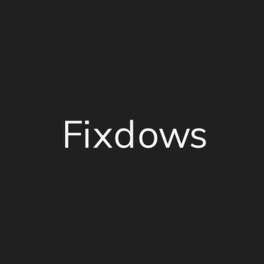 Fixdows 1.2