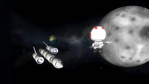 Игрообзор: симулятор Kerbal Space Program