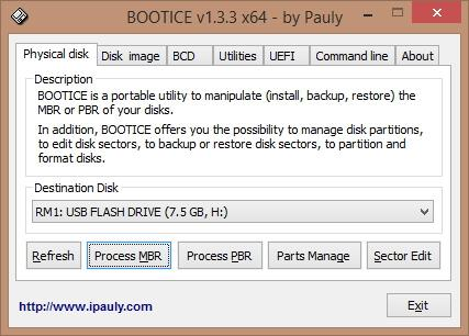 Bootice 1.3.4.0