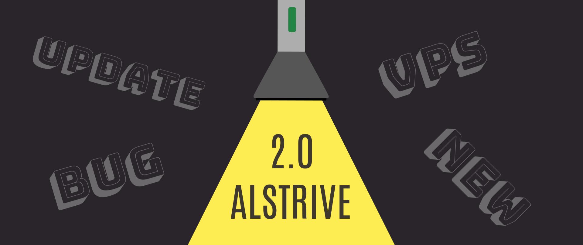 ALStrive 2.0: Долгожданный релиз новой версии